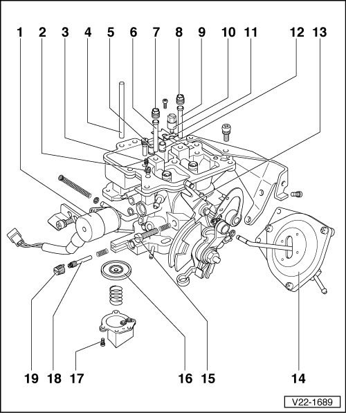 vw carb diagram wiring diagram  volkswagen workshop manuals u003e golf mk1 u003e power unit
