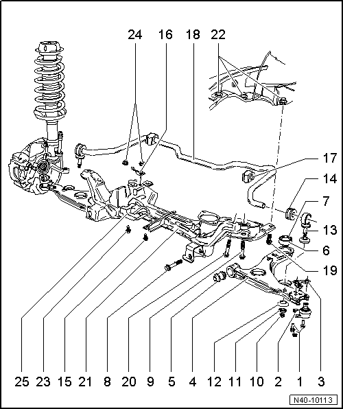 02 Saab 9 3 Vacuum Diagram also Gallery 3431 4 additionally Vw Bug Rear Brake Schematics additionally File Draglink further Assembly overview rear axle beam. on new beetle front suspension