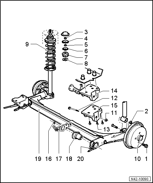 Vw Stub Axle Diagram