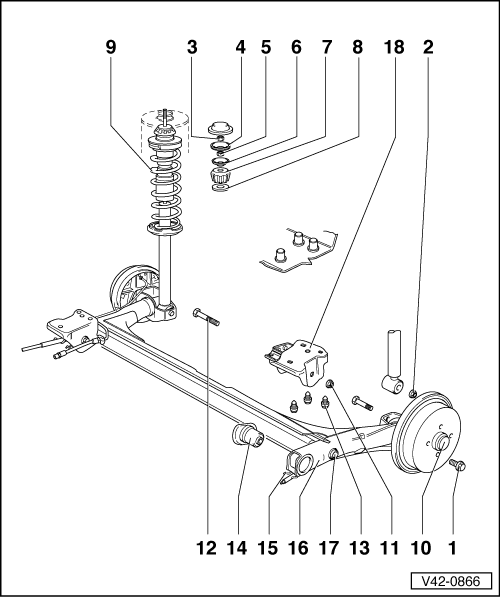 Mk3 Golf Rear Suspension Diagram