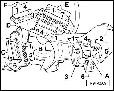 Vw Mrk 3 Ignition Switch Wiring Diagram from workshop-manuals.com