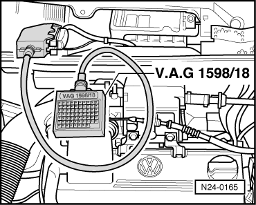 volkswagen workshop manuals > golf mk3 > power unit > simos, Wiring diagram