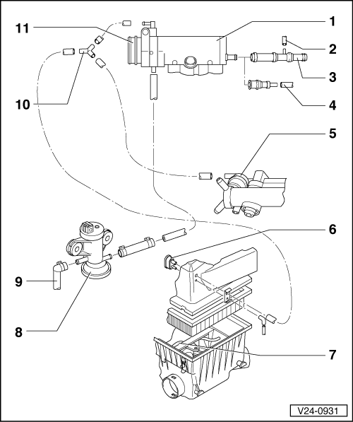 intake manifold diagram with Vacuum Hose Connection Diagram on 2005 Colorado Fuse Box further Tech Tip Weber 3236 Dgv5a Jetting likewise P 0996b43f80378f89 together with Carb likewise Illustration of engine management system.