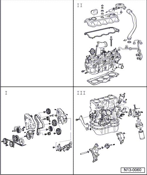 volkswagen workshop manuals u003e golf mk3 u003e power unit u003e 4 cyl diesel rh workshop manuals com VW Ahu Mtdi VW Ahu Mtdi
