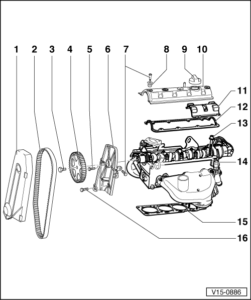 Repairing steering with telescopic column moreover How To Replace Timing Chains On Vw Polo 1 6i 9n4 2006 2010 in addition Mandan as well Repairing shift linkage moreover Cars. on head position in golf