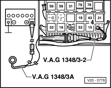 golf mk3 4533 volkswagen workshop manuals \u003e golf mk3 \u003e power unit \u003e 4 cyl mk3 golf fuse box diagram at gsmx.co
