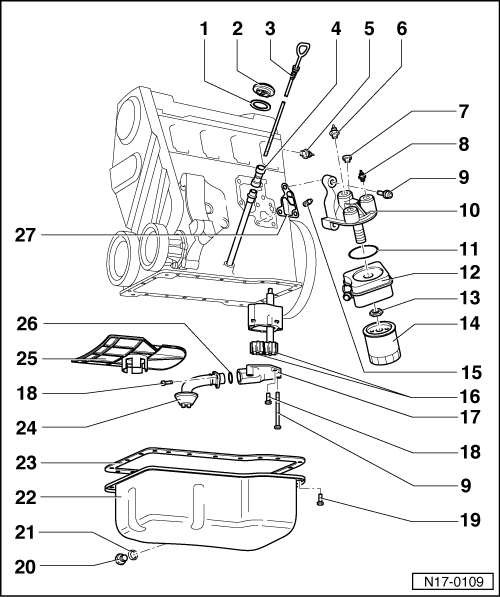 Volkswagen Oil Level Sensor Location Com
