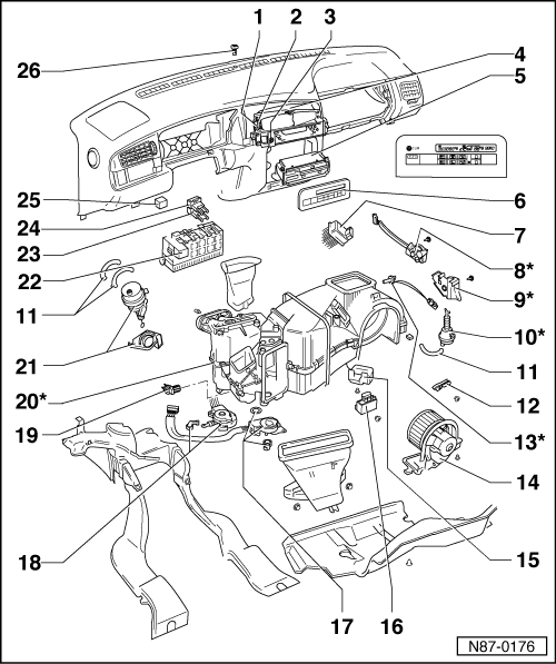 Volkswagen Golf 3 Diagram