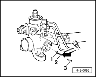 Zf Steering Box also 33 Volkswagen Passat B5 20012005 Fuse Box Diagram furthermore ELECTRICAL EQUIPMENT AND INSTRUMENTS 24271 furthermore Adjusting power steering box with new steering rack  trw moreover Holley Carburetor Diagram. on vw steering box adjustment