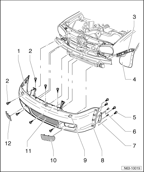 headlight parts diagram