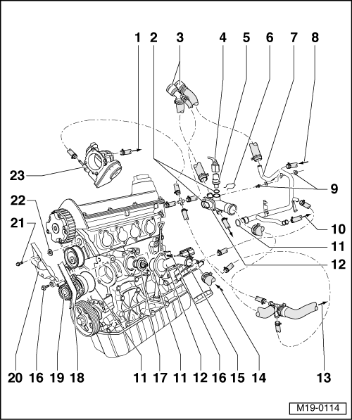 vw 2 0 engine diagram 1996