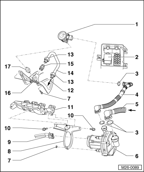 2001 vw golf exhaust diagram  2001  free engine image for