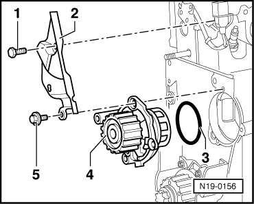 Removing and installing tandem pump further Checking  charge pressure control solenoid valve n75 moreover Removing and installing coolant pump additionally 30isi Jump 2000 Vw Beetle Radio Doesn T Work additionally Sunroof Repair Kit. on volkswagen golf wiring diagram