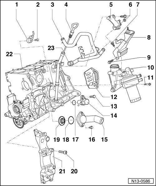 Part li  engine codes aeh akl on vw oil filter location