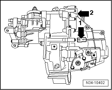 Volkswagen Workshop Manuals > Golf Mk4 > Power transmission > 6