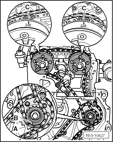volkswagen workshop manuals u003e golf mk4 u003e power unit u003e 6 cylinder rh workshop manuals com VR6 Engine Cutaway VW 2.0 Engine Diagram