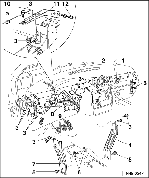 Jeep Steering Column Parts Cherokee Xj Html as well Assembly overview cross member for steering column further Explodedviews likewise 427906 Retrofit Cruise Control further Exploded View For The 1999 Ford F250 Tilt Steering Column Services 3. on steering column