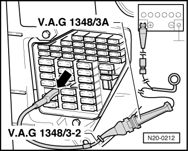 Checking fuel pump on wiring diagram for heating system