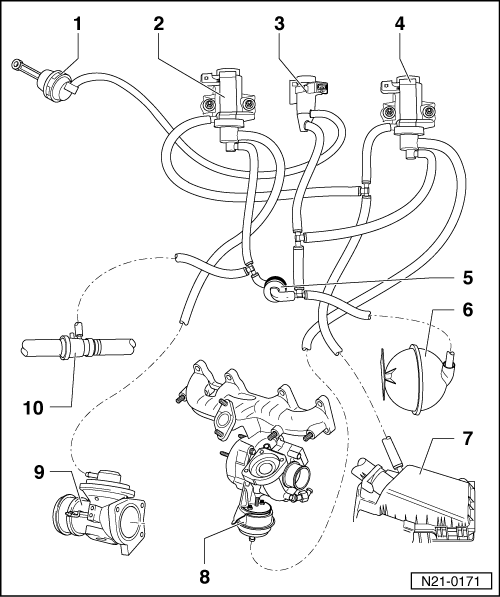 vw ea888 engine intake manifold diagram  vw  free engine