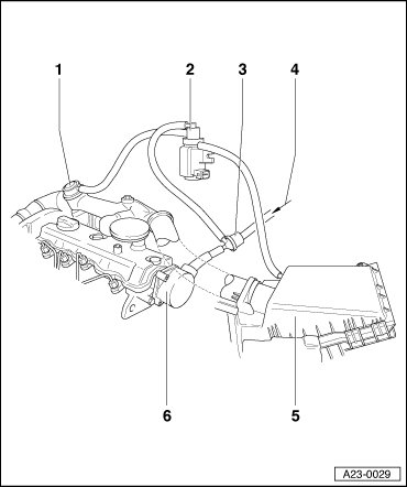 Ford Ranger 1993 Ford Ranger Location Of Diagnostinc Code Scanner Plug furthermore T24488625 2008 hyundai santa fe 2 7 l belt diagram in addition Vacuum Modulator Location besides Ford Ranger P1537 Dtc in addition RepairGuideContent. on ford vacuum hose diagram
