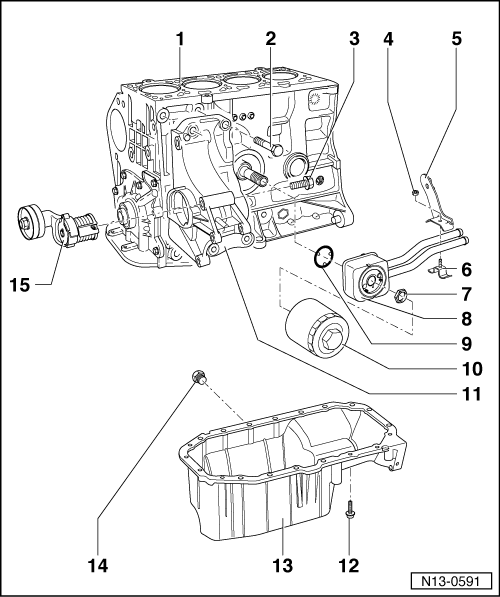 volkswagen workshop manuals > golf mk4 > power unit > 4 ... 09 jetta engine diagram 1999 vw jetta engine diagram