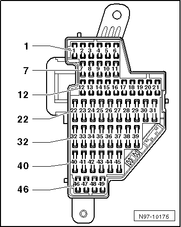 golf mk5 11842 volkswagen workshop manuals \u003e golf mk5 \u003e power unit \u003e 4 cylinder golf mk5 fuse box layout at reclaimingppi.co