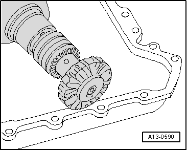 Removing_and_installing_sealing_flange_on_gearbox_side