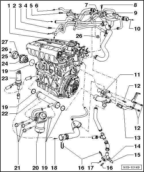 Volkswagen Golf Engine Diagram