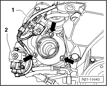 Dodge Caliber Front Bumper Diagram also Removing and installing pre Wiring for unit injectors and glow plugs for engine with engine identification characters bkd azv in addition Postimg 4319920 moreover Removing and installing turbocharger also 85u1y Volkswagen Touareg Difficult Replace 09 Touareg. on vw wiring harness clips