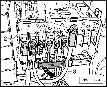 golf mk6 2498 volkswagen workshop manuals \u003e golf mk6 \u003e vehicle electrics volkswagen golf mk6 fuse box diagram at n-0.co