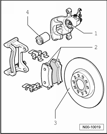 Installing  adjusting valve timing in addition Wiring Diagram 1992 Vw Gulf likewise Removing in addition Vw Fuse Box Diagram furthermore Rear brake cii 41  15quot. on volkswagen golf mk6