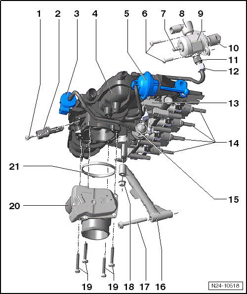 Electronic Power Assisted Steering How Does It Work additionally Oet939705 besides Assembly overview intake manifold likewise Where Is The Crankshaft Sensor Located On 2002 Volkswagen Jetta 1 8turbo 101446 also Awe Mk7gti Exhaust. on 1 2 volkswagen engine