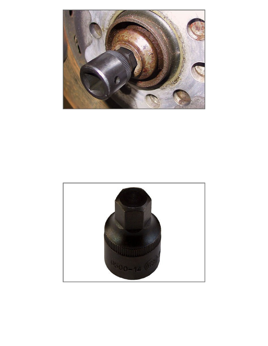 Maintenance > Wheels and Tires > Wheel Hub > Axle Nut > Component  Information > Specifications > Page 2024