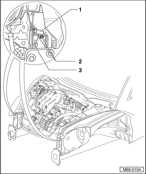 Removing and installing driver airbag crash sensorg283 and front passenger airbag crash sensorg284 together with 8jwoo Volkswagen Jetta 2 5 Checking Fuses 12v Lighter as well Crank Sensor Location 68932 in addition 8 Cylinder On V10 20139 moreover 2006 Vw Pat Parts Diagram. on vw touareg battery location