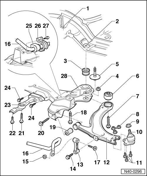 Volkswagen Workshop Manuals: 70 Vw Rear Suspension Diagram At Sergidarder.com