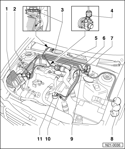 Vw Touran Vacuum Hose Diagram