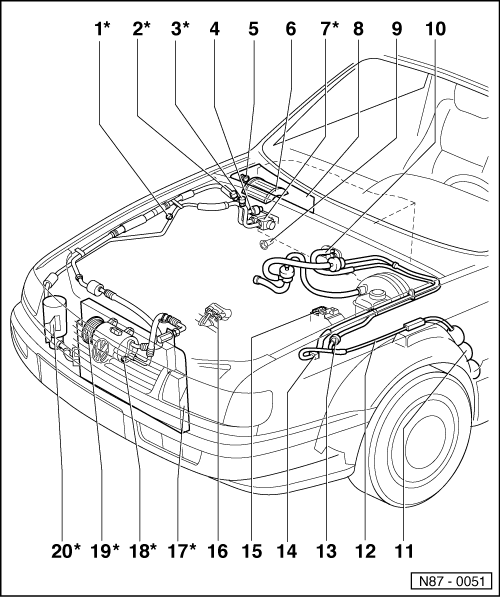 Volkswagen Workshop Manuals  U0026gt  Passat  B3   U0026gt  Heating