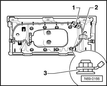 Deactivating front passenger airbag in addition  on wire harness foam tape