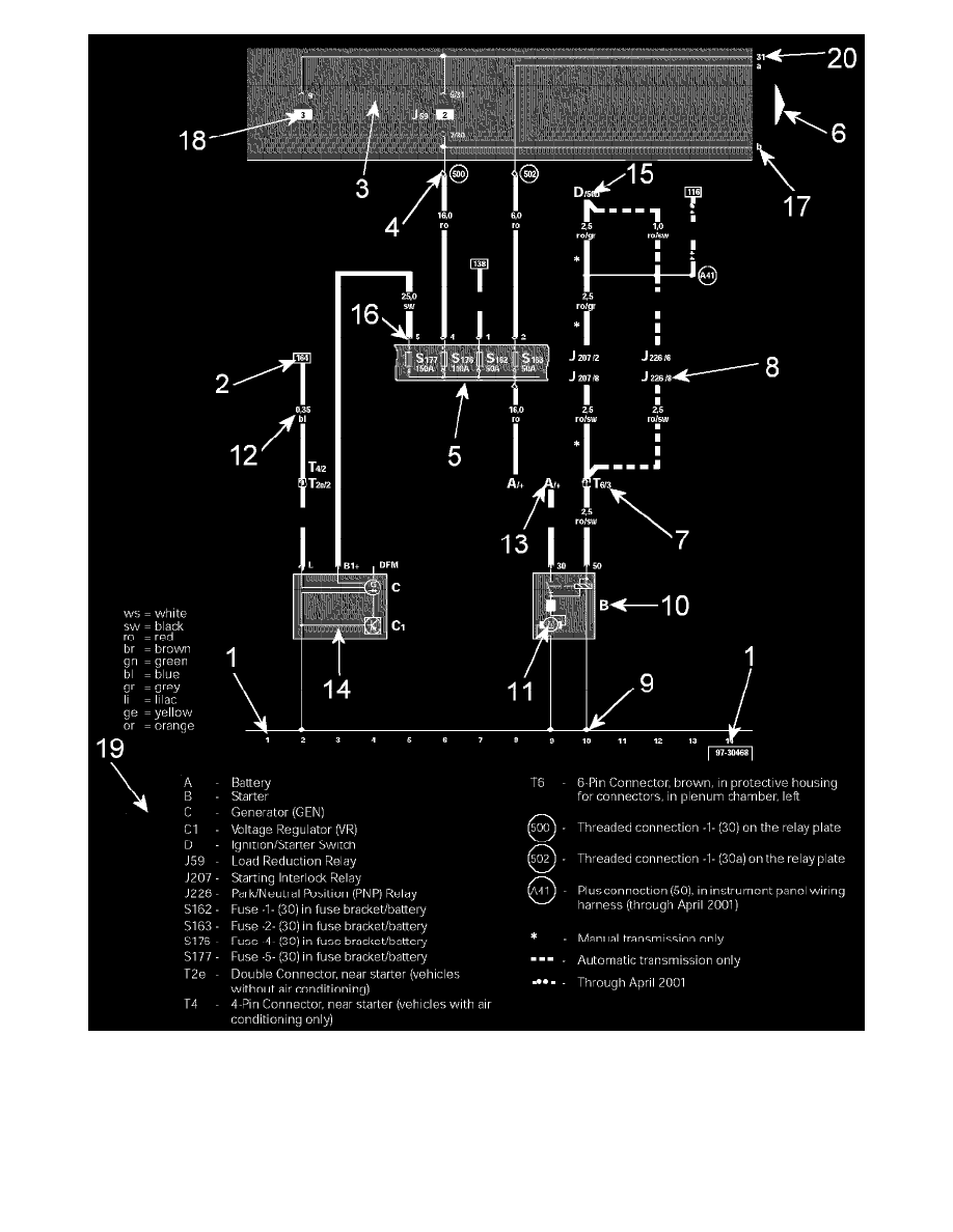 2009 Vw Touareg Fuse Diagram Wiring Library 2007 Passat Volkswagen Workshop Manuals U003e V6 3 6l Blv 2006