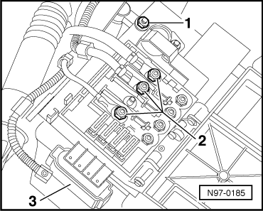 Disconnecting and reconnecting battery on vw polo mk3 fuse box diagram
