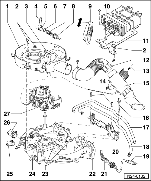volkswagen workshop manuals  u0026gt  polo mk3  u0026gt  power unit  u0026gt  mono motronic injection and ignition