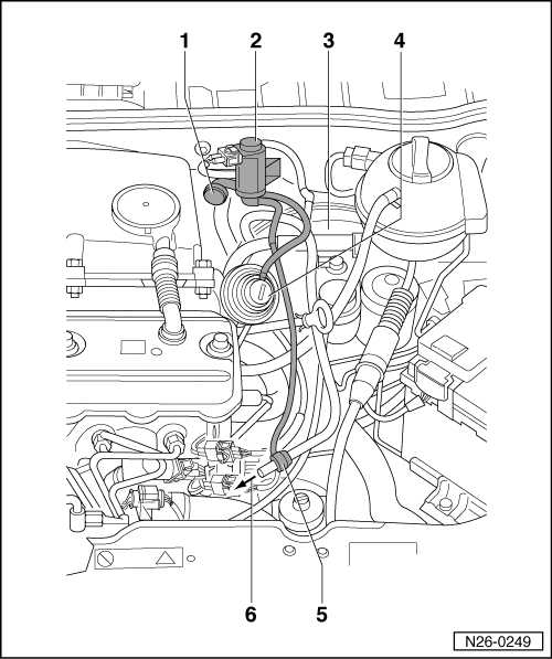 volkswagen workshop manuals  u0026gt  polo mk3  u0026gt  power unit  u0026gt  4