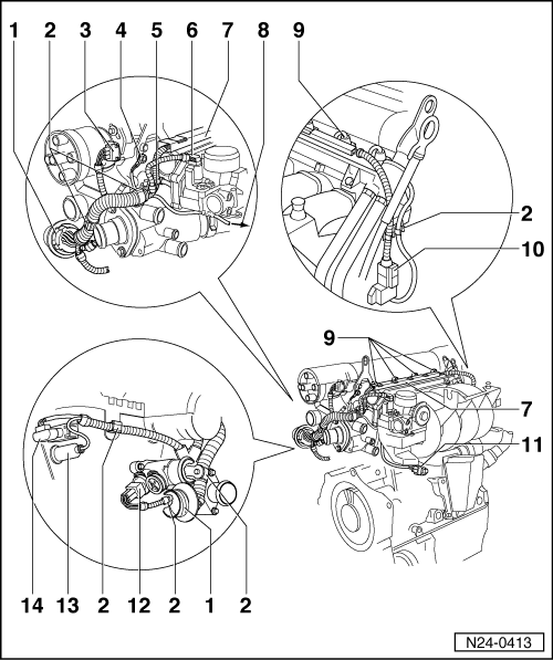 volkswagen workshop manuals  u0026gt  polo mk3  u0026gt  power unit  u0026gt  1av fuel injection and ignition system  4