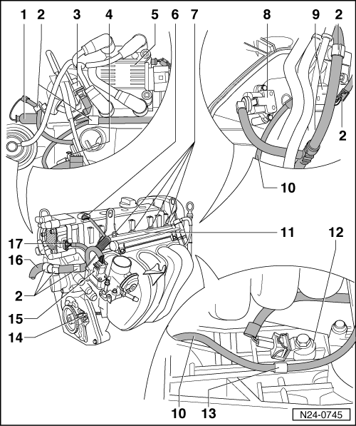 Volkswagen Workshop Manuals Polo Mk3 Power Unit 4av Injection