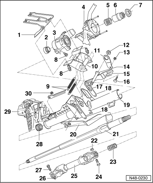 Vw Steering Column Diagram