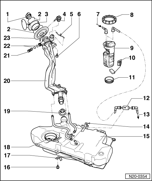 vw fuel filter  vw  get free image about wiring diagram