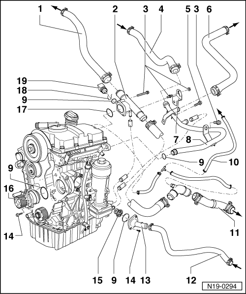 polo mk3 4704 volkswagen workshop manuals \u003e polo mk3 \u003e power unit \u003e 3 cylinder vw engine parts diagram at crackthecode.co