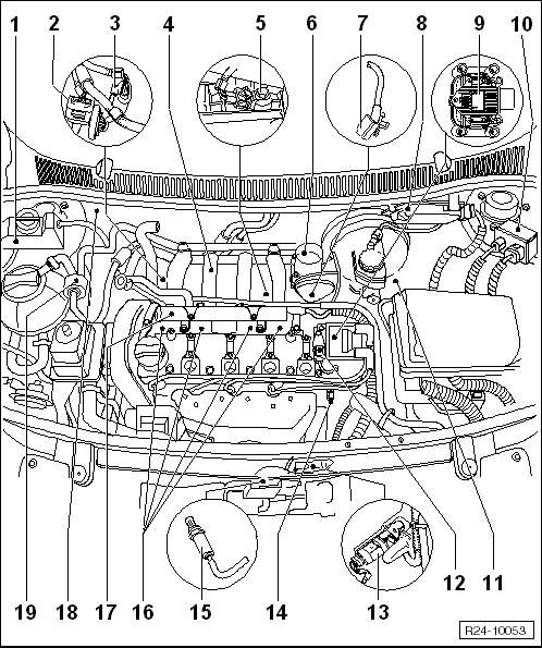 volkswagen workshop manuals u003e polo mk4 u003e engine u003e 4 cyl injection rh workshop manuals com volkswagen polo workshop manual pdf volkswagen polo workshop manual pdf