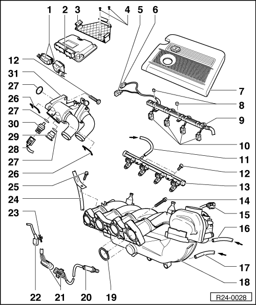 Volkswagen Workshop Manuals Polo Mk4 Engine 4