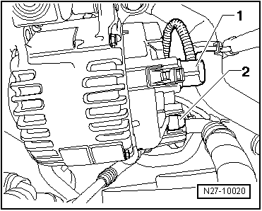 Generator  alternator c for1 on volkswagen golf mk4 engine diagram